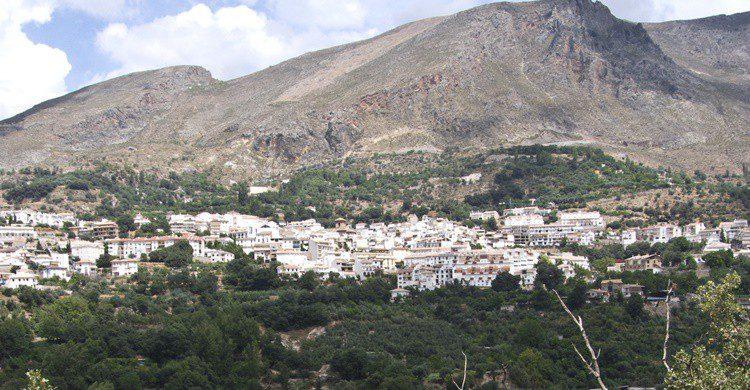 Vista de Güejar Sierra. Sergio Mas (Flickr)