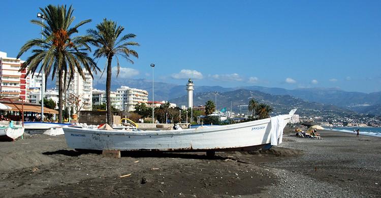 Playa de Torre del Mar, Andalucía