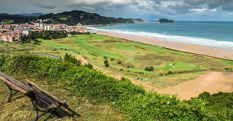 Vistas de Zarautz, País Vasco