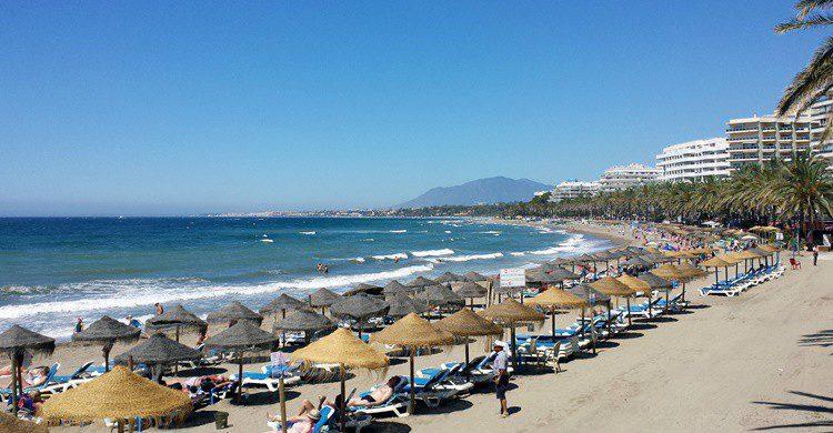 Playa de Marbella. Ashley Buttle (Flickr)