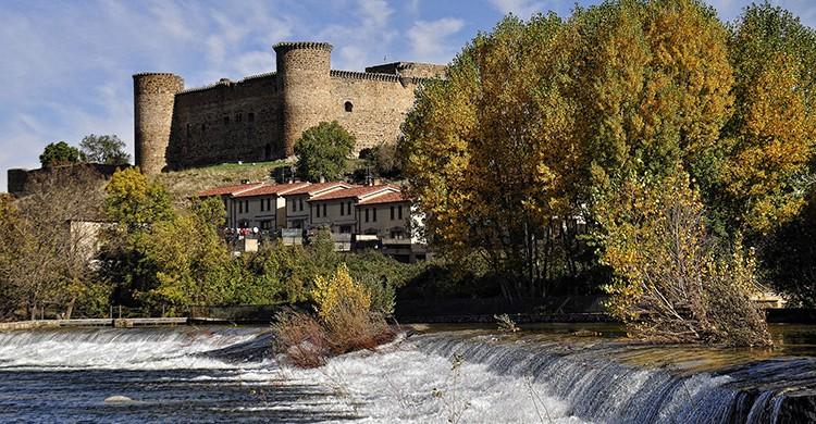 Vistas del castillo de El Barco de Ávila