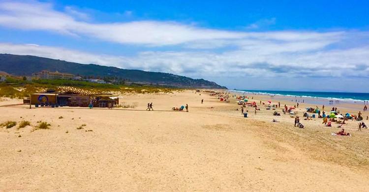 Vista de la playa (Chiringuito El Pez Limón, Facebook)