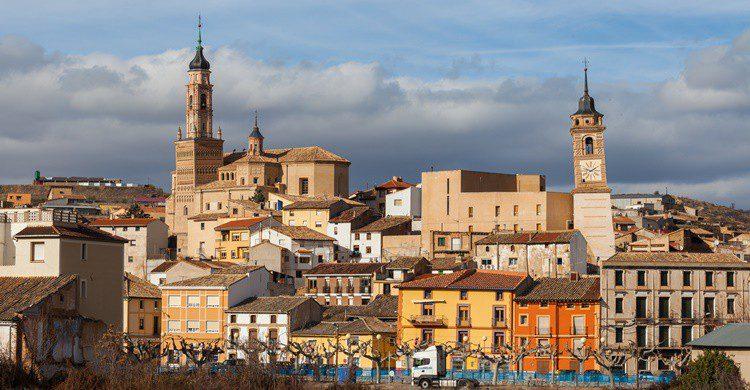 Ateca, en Zaragoza. Diego Delso (Wikipedia Creative Commons)