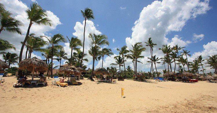 Playa en Punta Cana. Ted Murphy (Flickr)