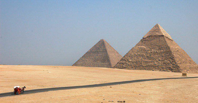 Pirámides de Egipto. David Evers (Flickr)
