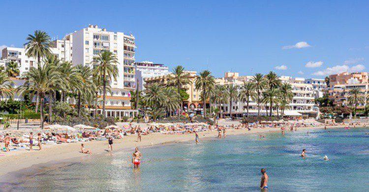 Playa de Figueretas.