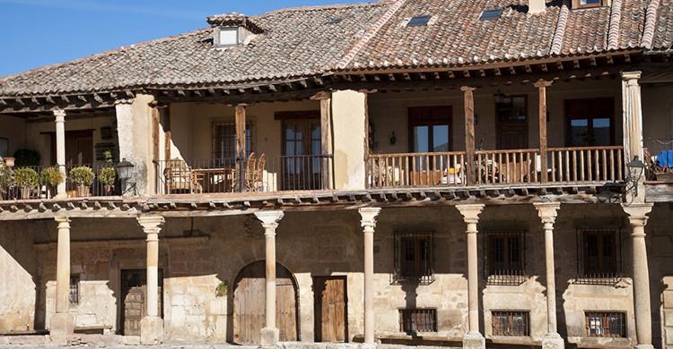 Una de las típicas casas de Pedraza
