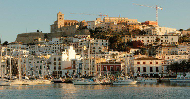 Castillo de Ibiza. Michela Simoncini (Flickr)