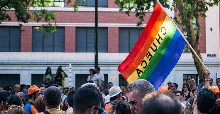 chueca de fiesta orgullo gay