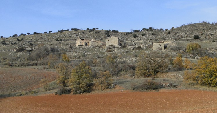 pueblos abandonados de guadalajara