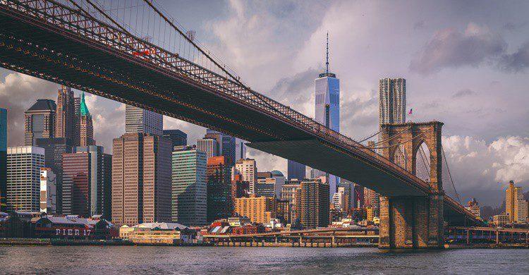 Nueva York desde el puente de Brooklin. Andrés Nieto Porras (Flickr)