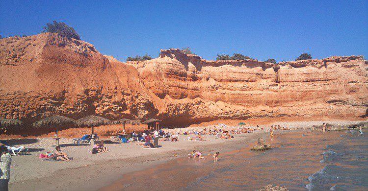 Playa de Sa Caleta. Ivar Abrahamsen (Flickr)