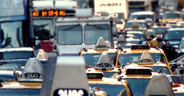 El incierto futuro del gremio del taxi (Fuente: Joisey Showaa / Flickr)