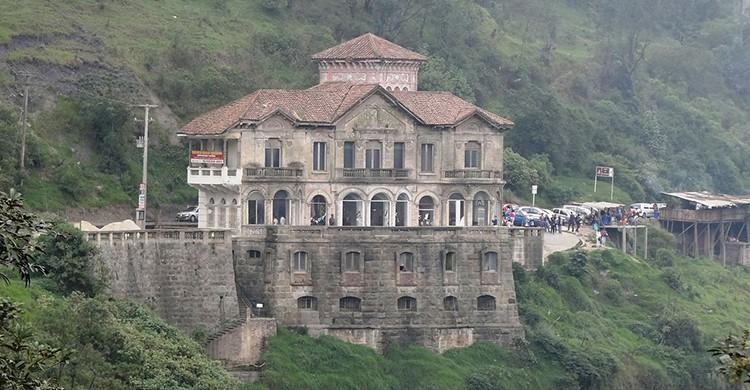 Vistas del Hotel del Salto, en Colombia