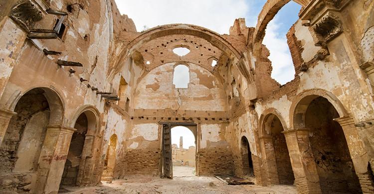 Ruinas de Belchite Viejo (Zaragoza)