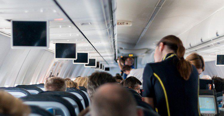 Pasajeros en un vuelo (Flickr)