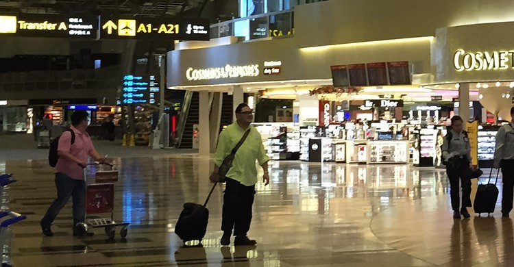 Más de 50 millones de personas pasan todos los años por el aeropuerto de Changi (Fuente: Eugene_O / Flickr)