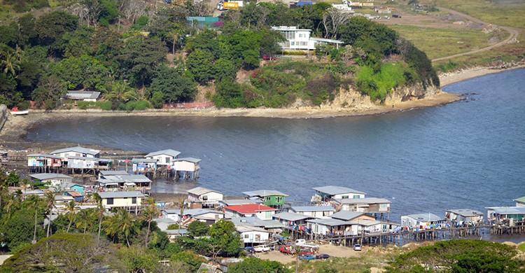 Vistas de Port Moresby, en Papúa Nueva Guinea