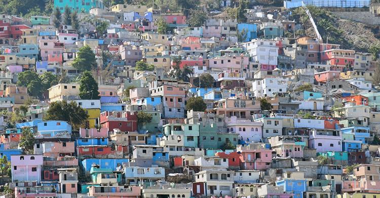 Cité Soleil en Puerto Príncipe, Haití