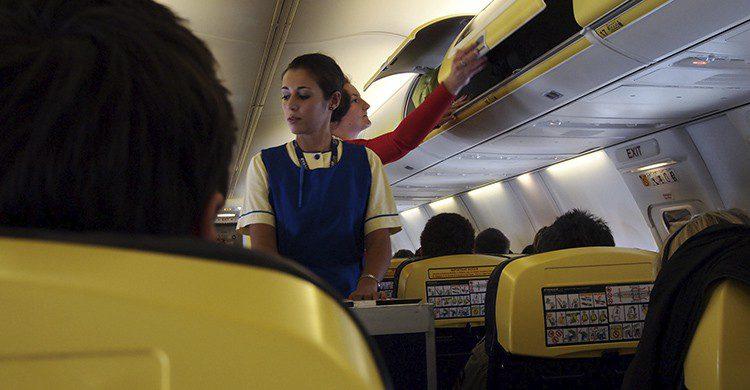 Medidas en la venta y el consumo de alcohol durante el vuelo (Flickr)