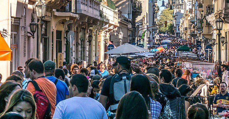 Las calles de argentina donde se escucha su meloso acento (Fuente: Juan Verni / Flickr)