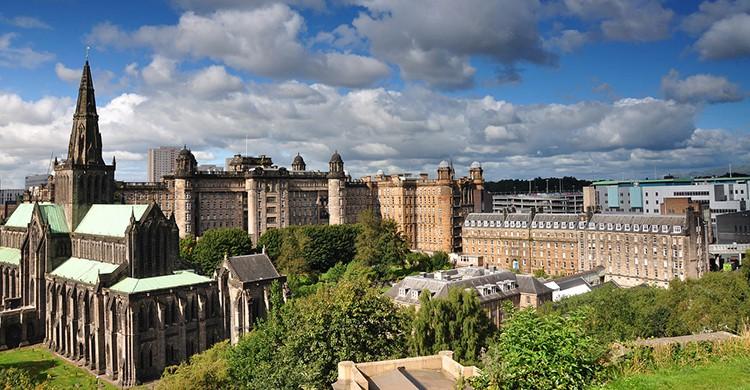 Vistas de Glasgow, Escocia