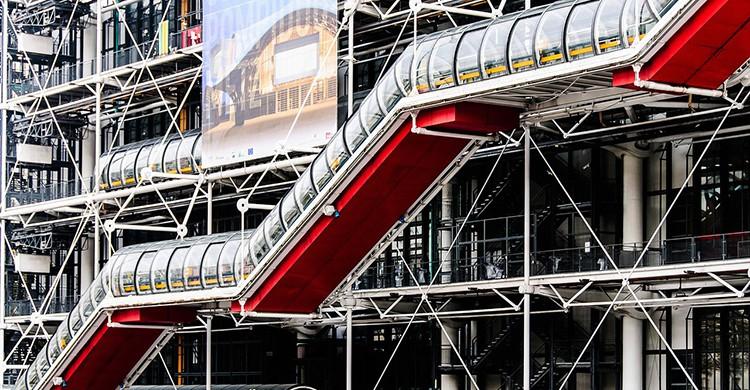 El Centro Pompidou de París