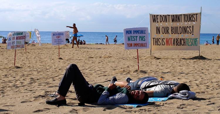 turismofobia en España
