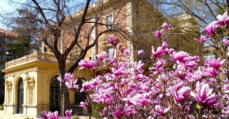 Los jardines del museo (Museo Lázaro Galdiano, Facebook)