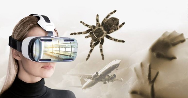 Realidad virtual contra los miedos (Psious, Facebook)
