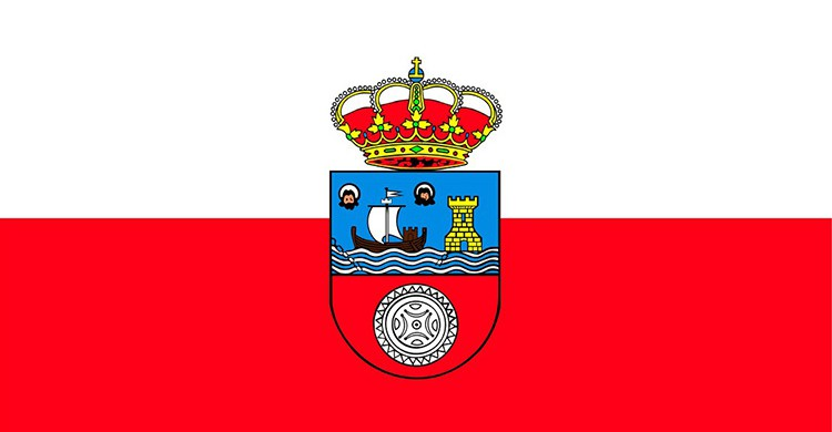 La bandera de Cantabria