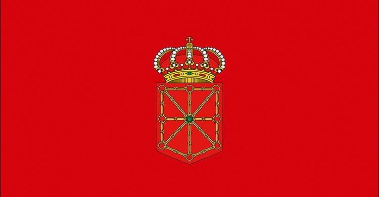 La bandera de Navarra