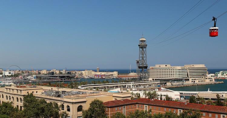 Telefèric de Montjuïc (Albert T M, Foter)