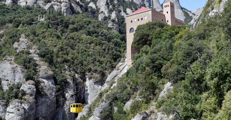 La subida a Montserrat (Aeri de Montserrat, Facebook)