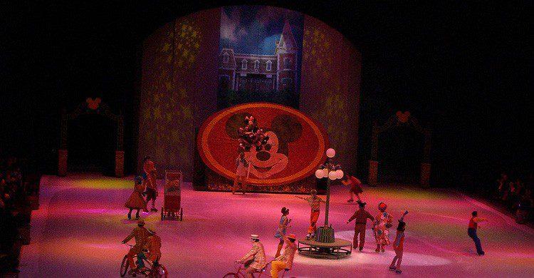 Espectáculo 'Disney on Ice' (Fuente: Mike Overall / Flickr)