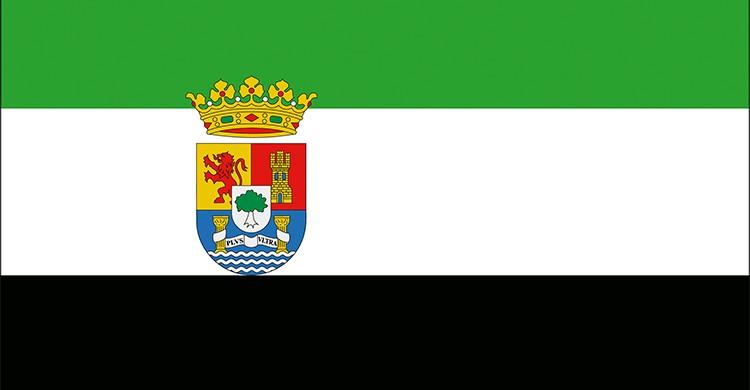 La bandera de Extremadura