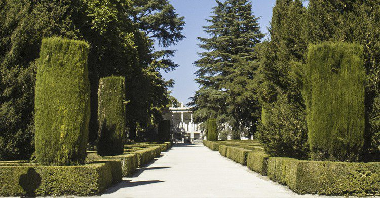 atardecer Madrid parques turismo