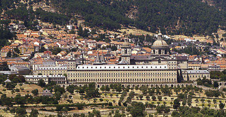 San Lorenzo El Escorial atardecer Madrid