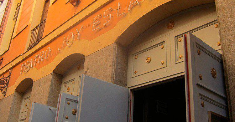 Entrada a la Sala Joy Eslava en Madrid (Fuente: Carmen Voces / Flickr)