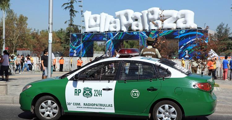 Entrada del festival Lollapalooza en Chile