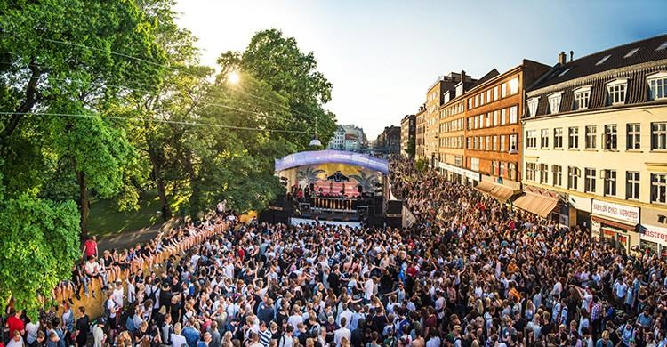 Festival Distortion en Copenhague