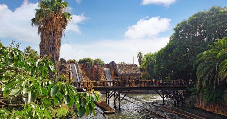 Atracción acuática en Port Aventura (iStock)