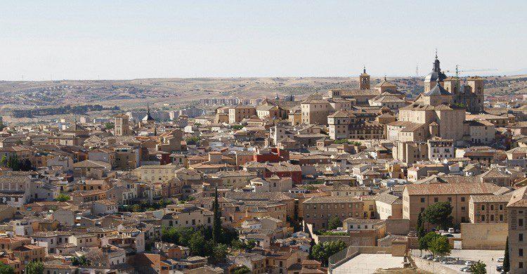Panorámica de la ciudad de Toledo (Fuente: hijukal / Flickr)