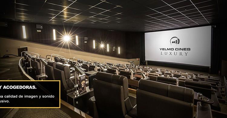 Sala del Yelmo Cines Luxury de Madrid