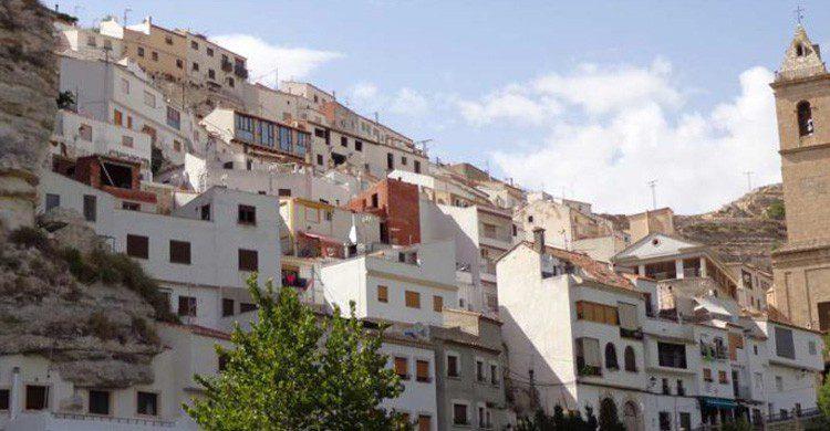 Vistas de Alcalá del Júcar, el Albacete (Fuente: wikimedia.org)