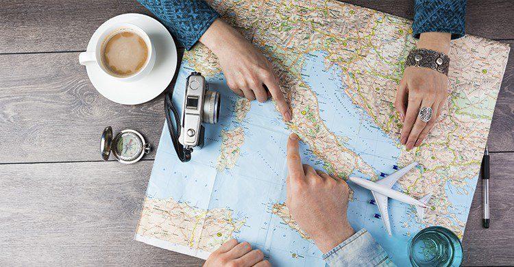 Planificar los viajes es otra forma de felicidad