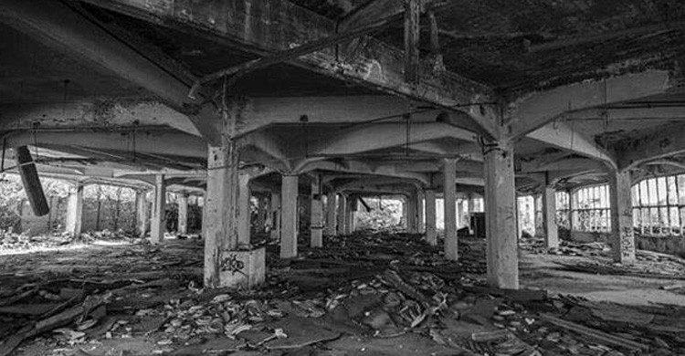 Foto de una localización de lugar abandonado publicada por @redhache en Instagram (Fuente: Facebook Abandoned Spain)