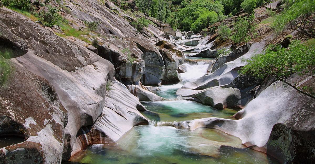 Los Pilones en el valle del Jerte
