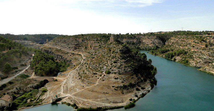 Vistas de Alarcón, Cuenca (Fuente: Santiago Lopez-Pastor / Flickr)
