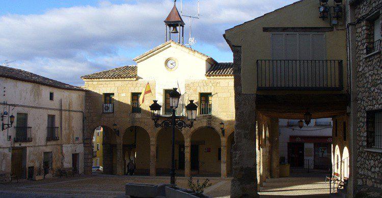 Vista de la Plaza de Buendía, Cuenca (Fuente: Samu / Flickr)